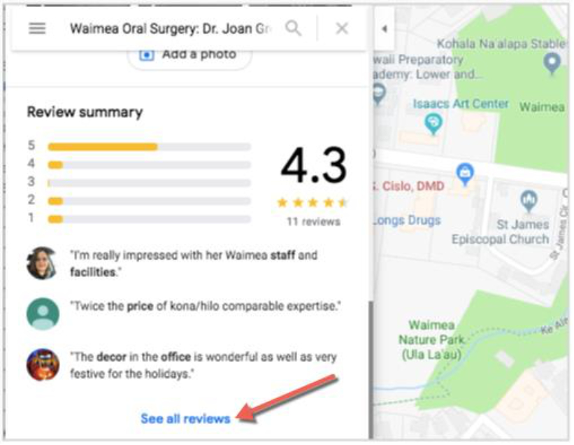 You can now reply to reviews on your Google Map listing - SM ... Google Map Listing on google maps find, google aerial view, google alaska, google web page, google maps example, google places listing-free, google virtual tour, google california, google business listing, google new york,