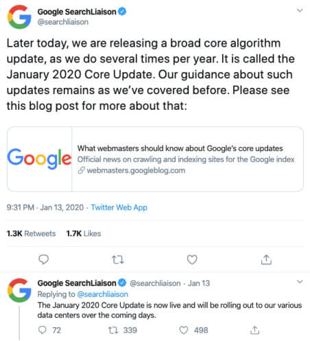 google-core-updates